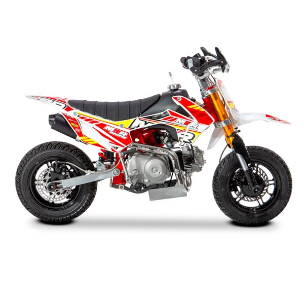 M2R Racing 90R 90cc 62cm Semi Automatic Mini Supermoto Pit Bike