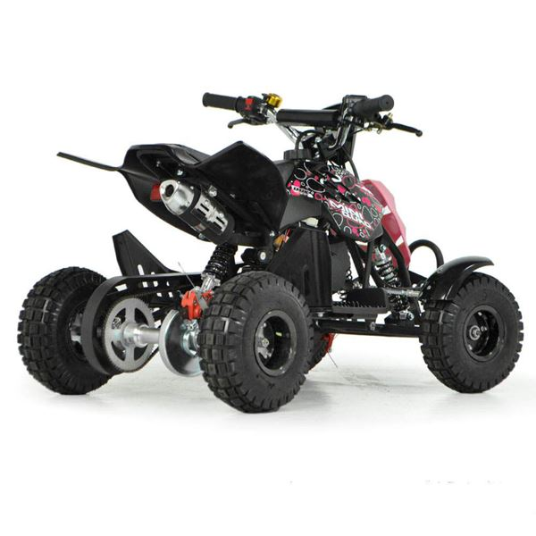 FunBikes 49cc Pink Kids Mini Quad Bike