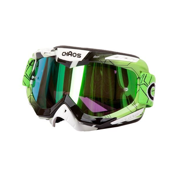Chaos Adults MX Goggles Green