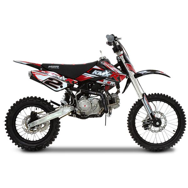 M2r Kmxr125 125cc 17 14 86cm Red Dirt Bike