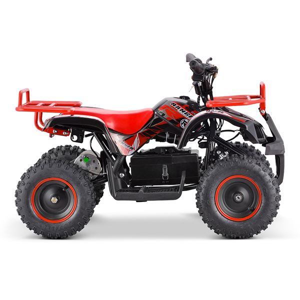 FunBikes Ranger 800w Blue Childs Electric Mini Quad Bike