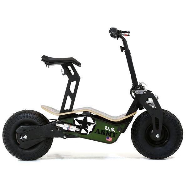 Velocifero 48 Volt 1600w Electric Scooter Big Wheel Powerboard