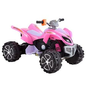 FunBikes Pink Electric Ride On Quad