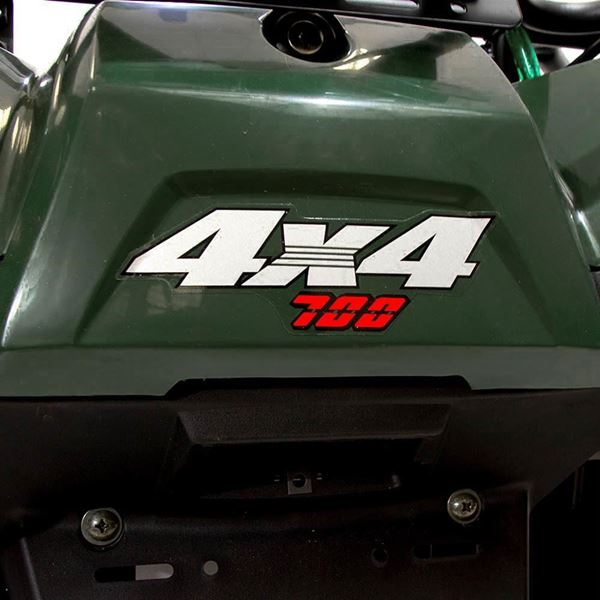 SMC MAX 700 675cc 4x4 Green Road Legal Utility Quad Bike