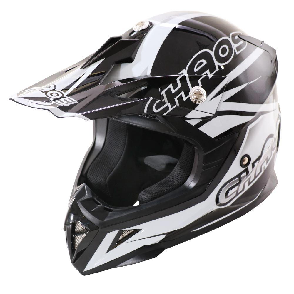 Chaos Adult Crash Helmet Black