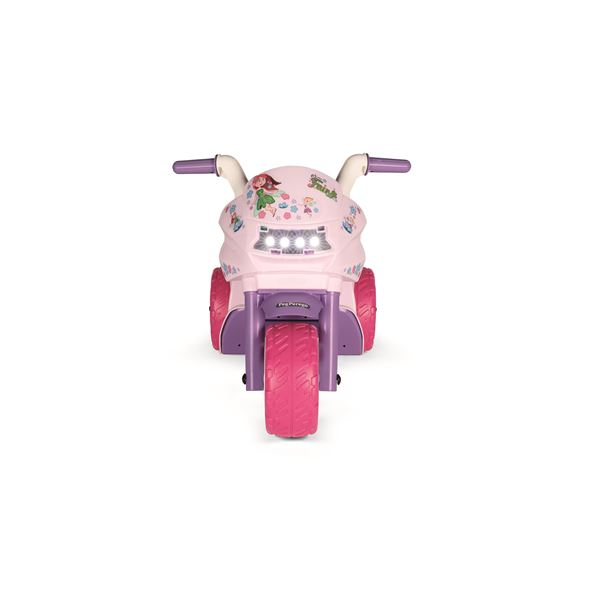 Peg Perego Mini Fairy Kids 6v Ride On Three-Wheel Motorbike