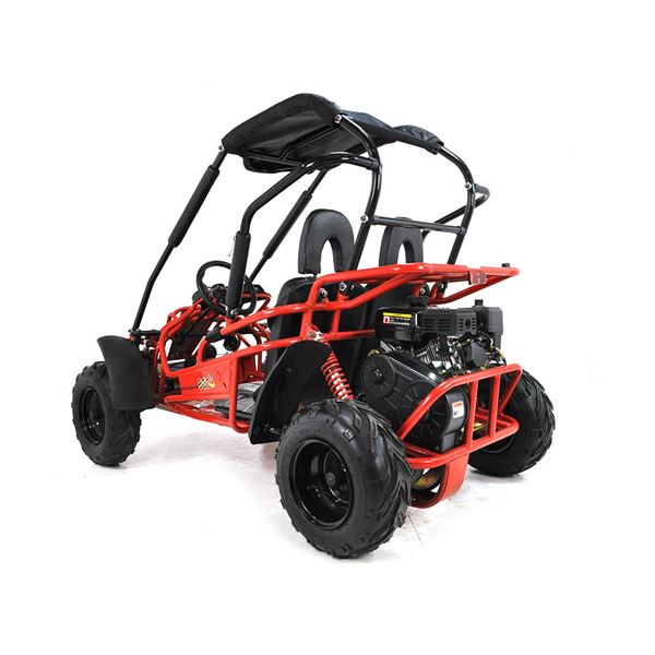 FunBikes GT80 200cc Red Midi Off Road Buggy