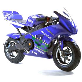FunBikes MT4A 50cc 46cm Purple Mini Moto Racing Bike