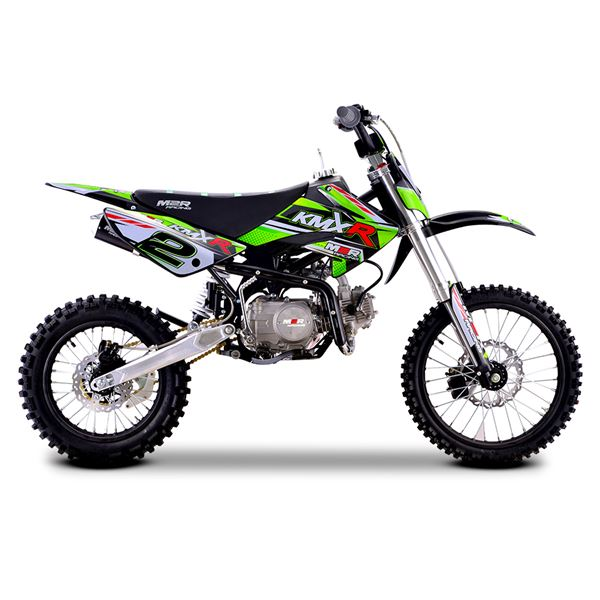 M2R Racing KMXR140 140cc 17/14 86cm Green Dirt Bike