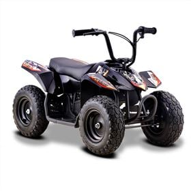 Funbikes 24v 250w Bambino Black Kids Electric Quad Bike