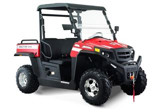 Hisun Sector 250cc Red Off Road Utility Buggy
