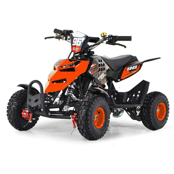 FunBikes 49cc Orange Kids Mini Quad Bike