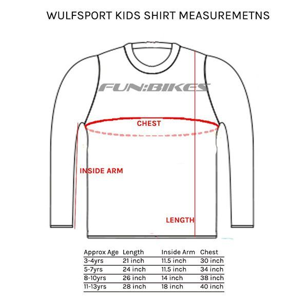 Wulfsport Arena Cub Race Shirt Orange