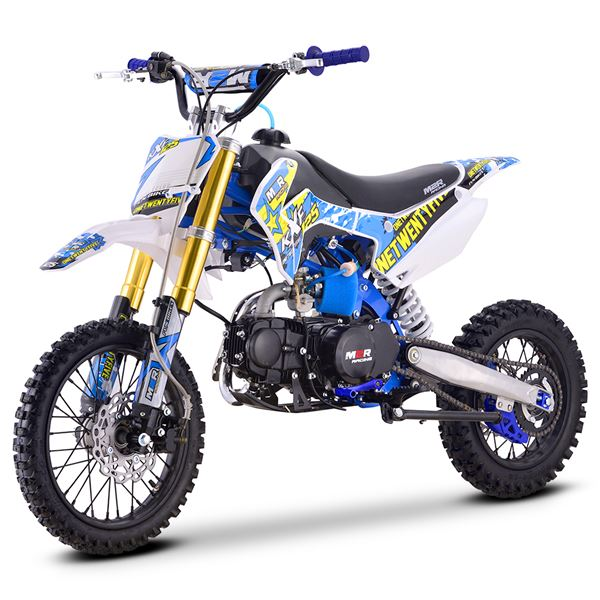 M2R Racing KXF125 120cc 76cm Blue Pit Bike