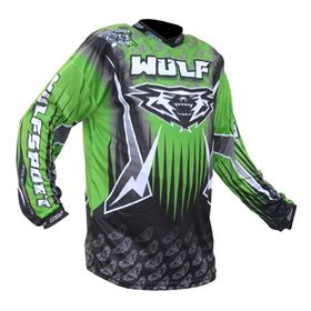 Wulfsport Arena Race Shirt Green