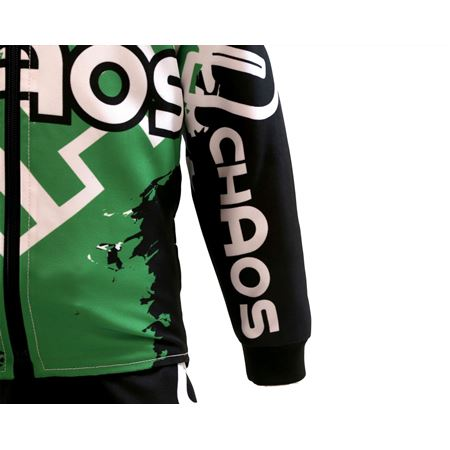 Chaos Kids Off Road Jacket Green