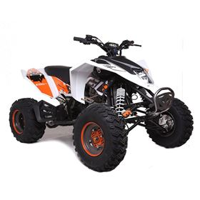 EGL Madmax 250cc White Sports Adults Quad Bike