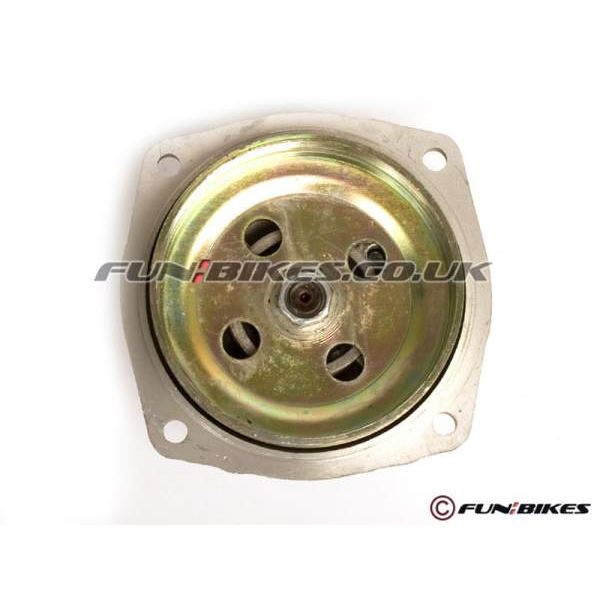 Mini Moto, Quad Clutch Housing 6 Tooth Pinion Cover Type Grey