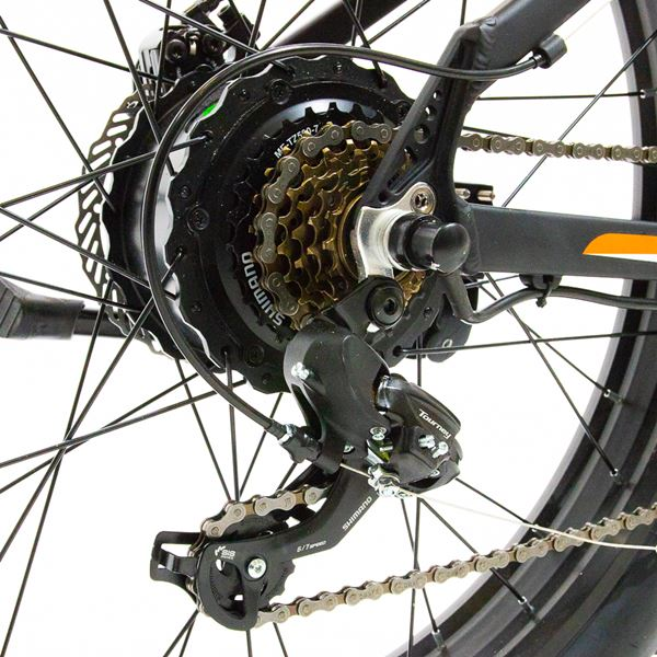 Shimano Tourney TX 7-speed Gears
