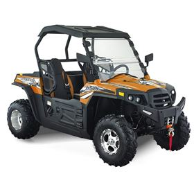 Hisun Strike 250cc Orange Off Road Buggy