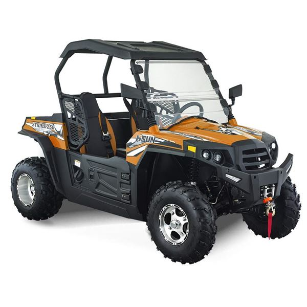 Hisun Strike 250cc Orange Road Legal Off Road Buggy
