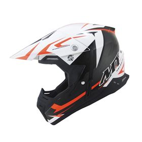 MT Synchrony Steel Crash Helmet Orange