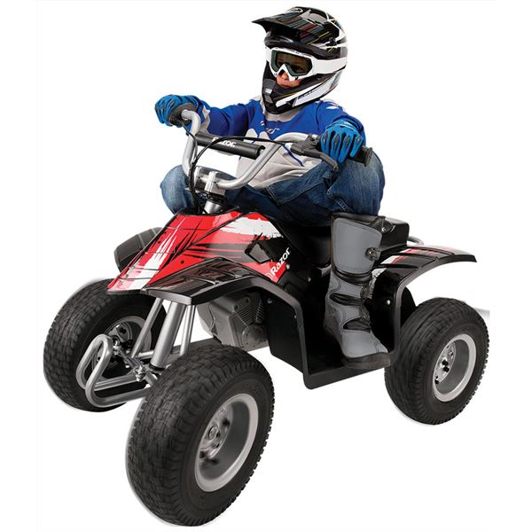 Razor 24v Black Kids Electric Dirt Quad Bike