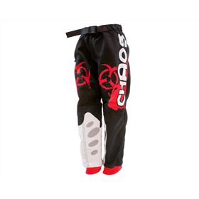 Chaos Kids Off Road Race Trouser Red
