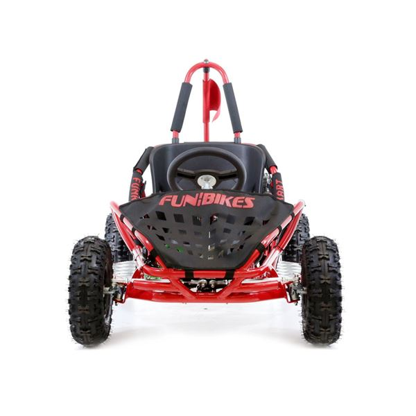 FunBikes Funkart 79cc Red Kids Mini Go Kart