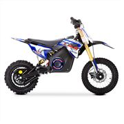 FunBikes MXR 1300w Lithium Electric Motorbike 65cm Blue Kids Dirt Bike