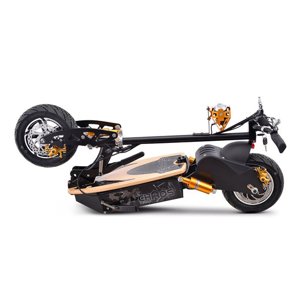 Chaos 48v 1600w Hub Drive Adult Electric Scooter