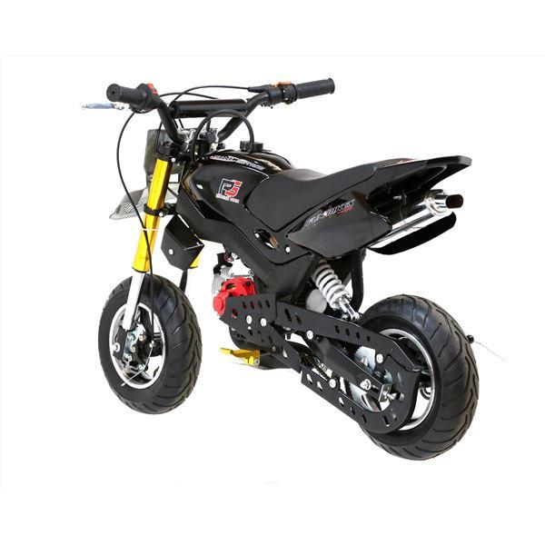 funbikes super motard 50cc 48cm black mini moto bike. Black Bedroom Furniture Sets. Home Design Ideas