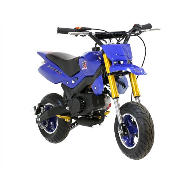Funbikes Super Motard 50cc 48cm Blue Mini Moto Bike