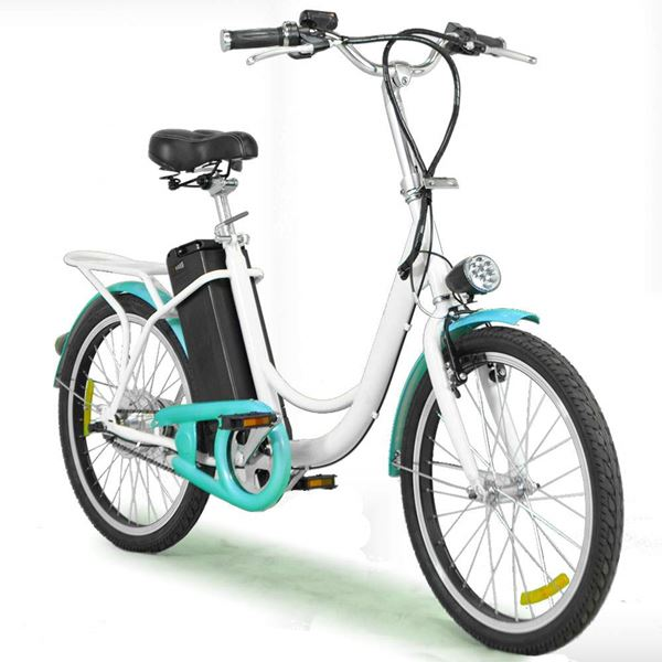 "Enhance Low Seat Height 22"" Unisex Electric Bike"