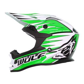 Wulfsport Kids Advance Crash Helmet Green