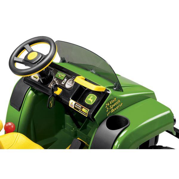 Peg Perego John Deere Gator HPX 6x4 Lithium Kids 24v Ride On Electric  Tractor