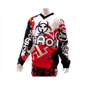 Chaos Kids Off Road Race Shirt Red