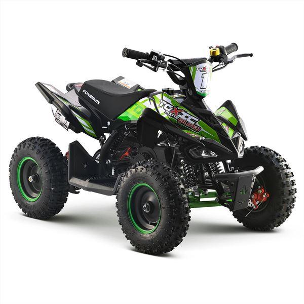 FunBikes 50cc Toxic Petrol Mini Quad Green