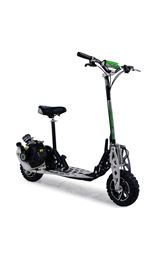 Uber Scoot 2x 71cc Petrol Scooter Big Wheel Off Road Powerboard