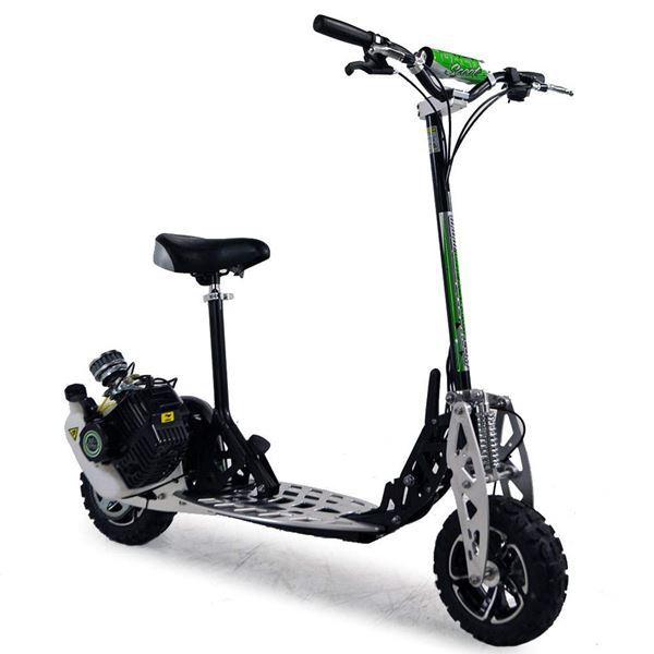 uber scoot 2 speed 71cc petrol scooter big wheel off road. Black Bedroom Furniture Sets. Home Design Ideas