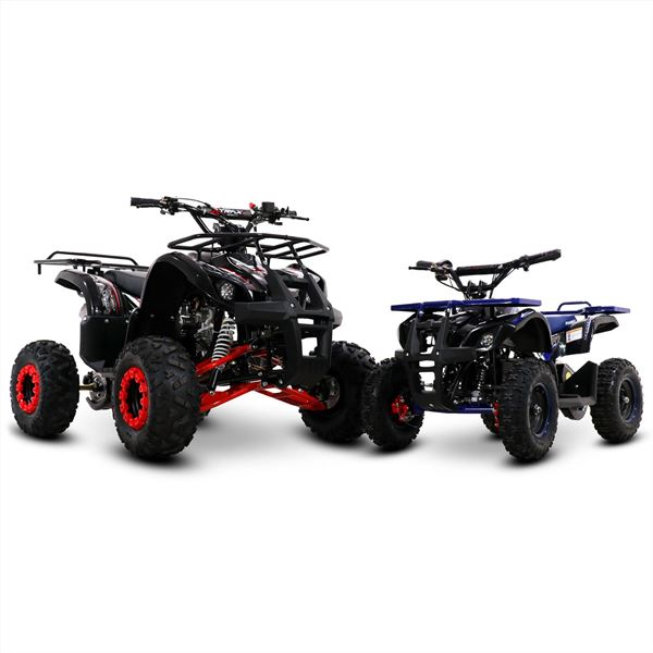 FunBikes Xtrax 125cc Petrol Blue Junior Quad Bike