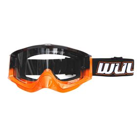 Wulfsport Abstract Adult Goggles Orange