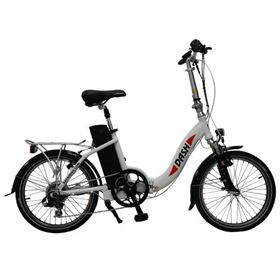 Batribike Dash 250w White Electric Folding Bike