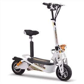 Chaos GT1600 Sport 48v Lithium Hub Drive White Adult Electric Scooter