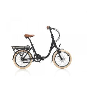 Beaufort Basso 468 250w Black Electric Folding Bike