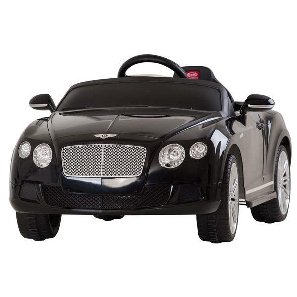 Bentley Kids Electric Cars Licensed 6v 12v Kids Bentleys: Licensed Bentley Continental GT 12v Black Electric Ride On Car