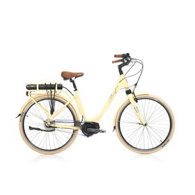 Beaufort Belmonte 420 250w Cream Electric Commuter Bike