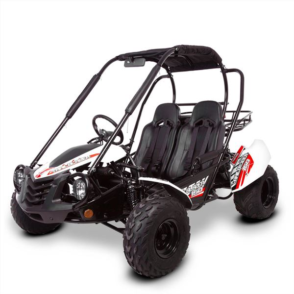 Mud Rocks 150 Trail Blazer 150cc White Off Road Buggy