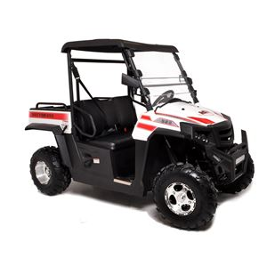 Hisun Sector 250cc White Road Legal Off Road Utility Buggy