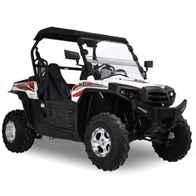Hisun Strike 250cc White Off Road Buggy